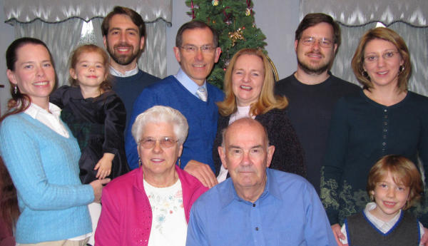 Cole Family - 26 December 2010